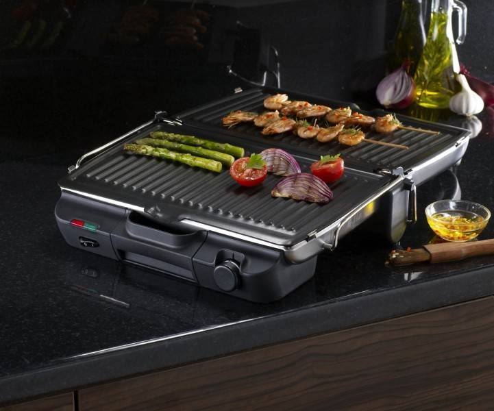 Grill tefal jamie oliver gc301528 - Grill viande ultra compact tefal ...