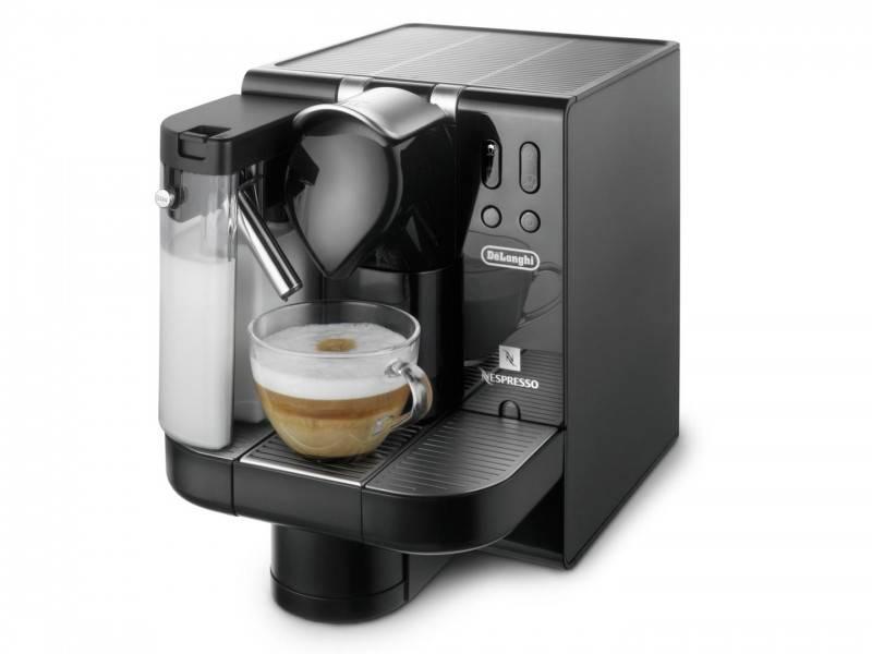 nespresso delonghi lattissima en660 b. Black Bedroom Furniture Sets. Home Design Ideas
