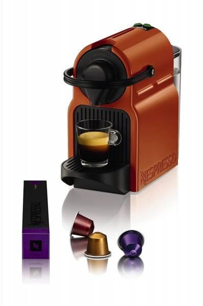 nespresso krups inissia xn100fo orange. Black Bedroom Furniture Sets. Home Design Ideas